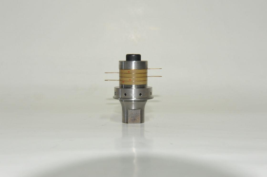Solid Mount Ultrasonic Welding Transducer 40khz For Transmitter Circuit Sealing Equipment